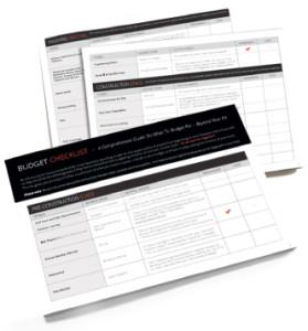 Budget-Checklist